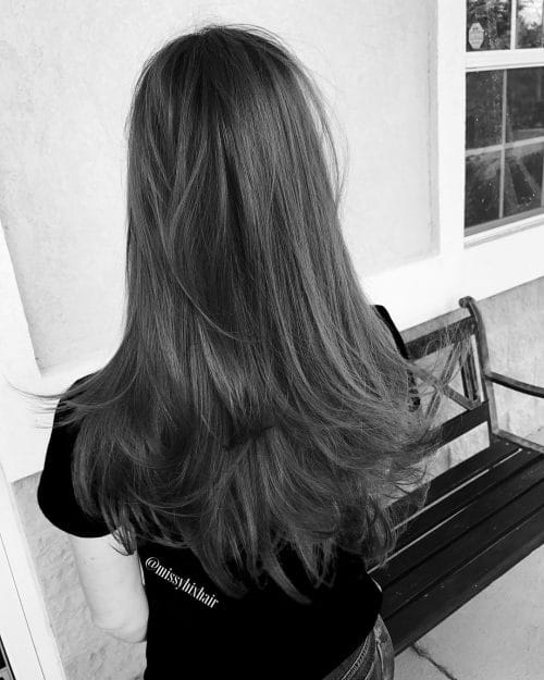Layered-and-Textured-Cut 12 eye-catching longhair style