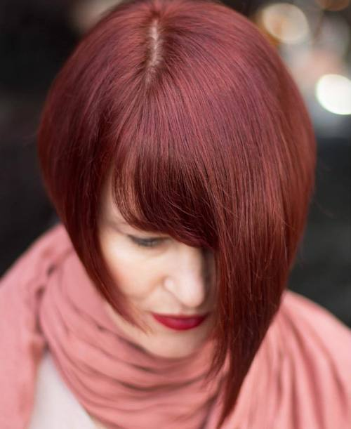 Light-Red-Wine-Hair Chirmast Time, It's Time To Dye Your Hair Color To Red