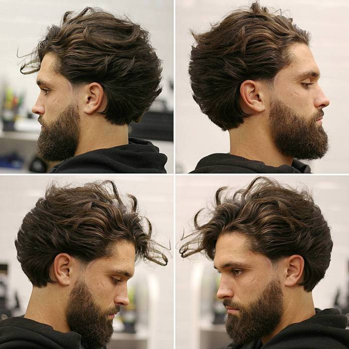 Long-Hairstyle-For-Men-Beard The Best Haircuts For Men