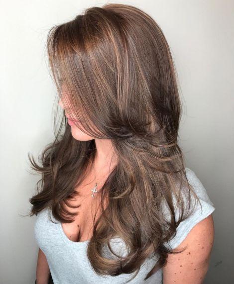 Long-Layered-Light-Chocolate-Brown-Cut 12 eye-catching longhair style