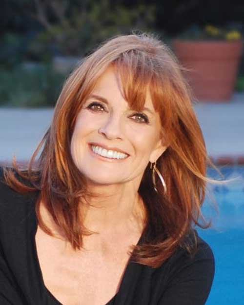 Long-Ombre-Hair-with-Bangs Long Hairstyles for Women Over 50 – Look Trendy And Fashionable