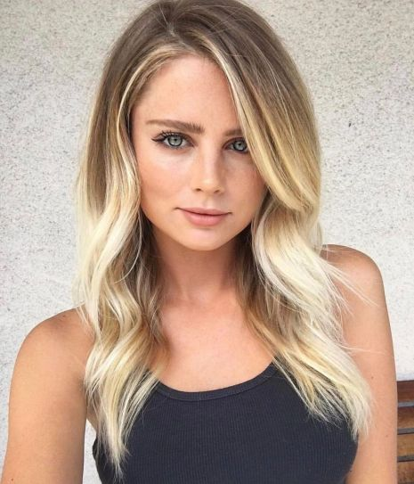 Medium-Hair-with-Flowy-Face-Framing-Highlights 6 Tips to choose the right hairstyles for square faces