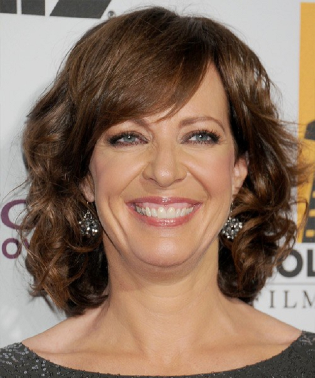 Mid-Length-Wavy-Hair-with-side-Bangs Wavy Hairstyles for Women Over 50 – Look Young And Beautiful
