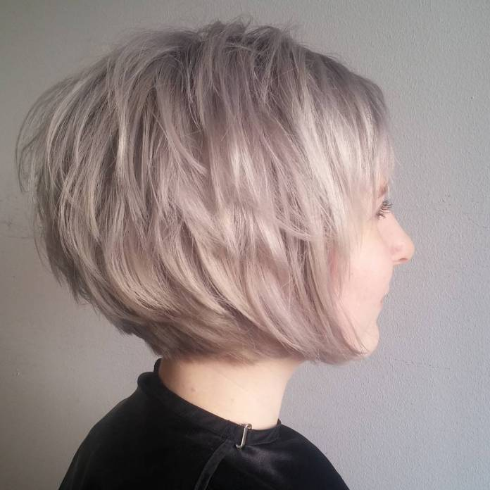 Multi-Layered-Bob Edgy Haircuts for Women to Look Super Model