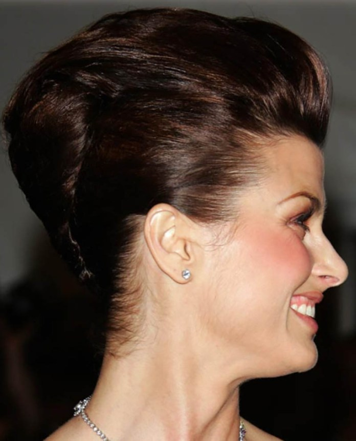 Mysterious-Twisted-Bun Edgy Haircuts for Women to Look Super Model