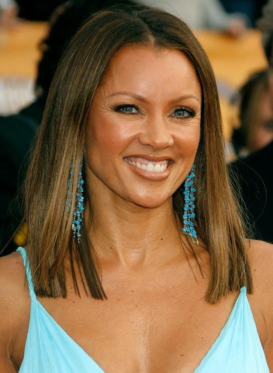Ombre-Medium-Straight-Hair Medium Hairstyles for Women Over 50