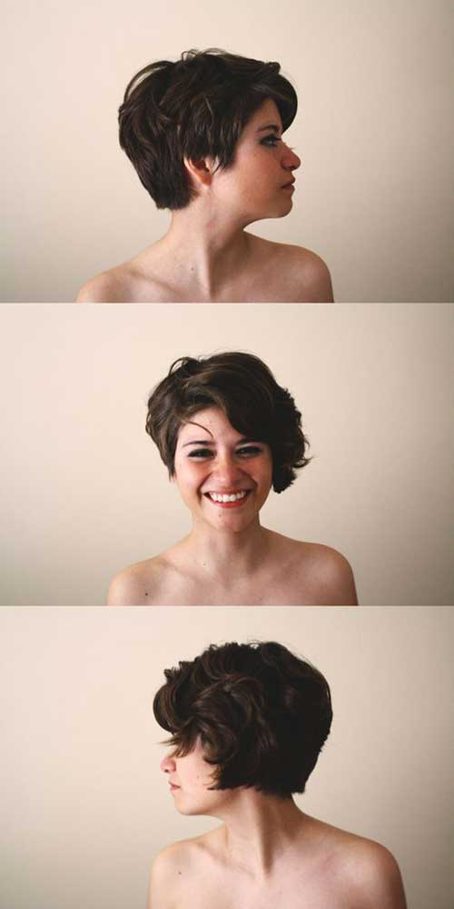 Pixie-Cut Short Haircuts For Thick Hair