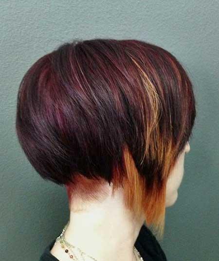 Raspberry-and-Blonde-Highlights-Hair-Color-Idea Short Hair Colors Ideas 2020