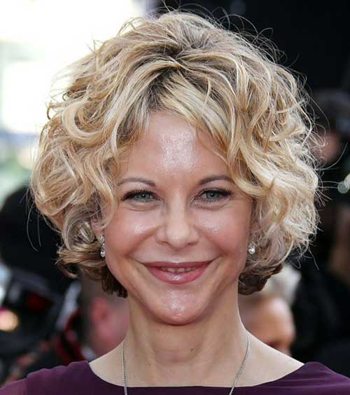 Short-Blonde-Curly-Hair-for-Over-50 Pictures Of Short Haircuts For Over 50