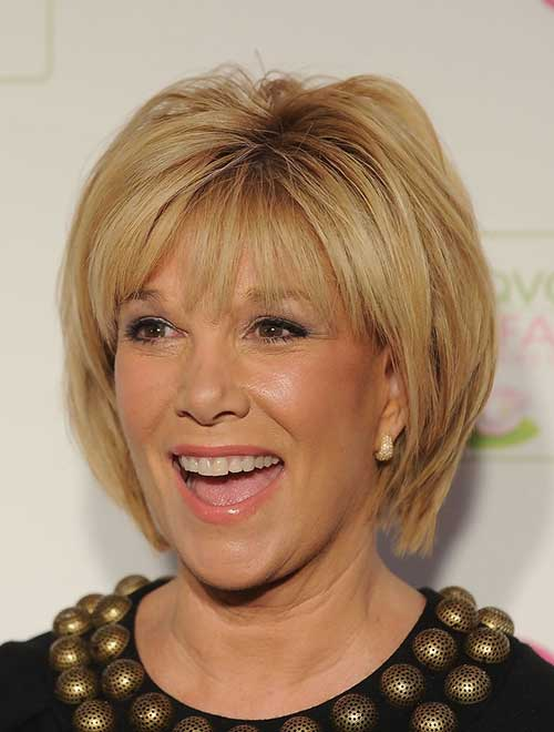 Short-Blonde-Layered-Hair-for-Over-50 Pictures Of Short Haircuts For Over 50