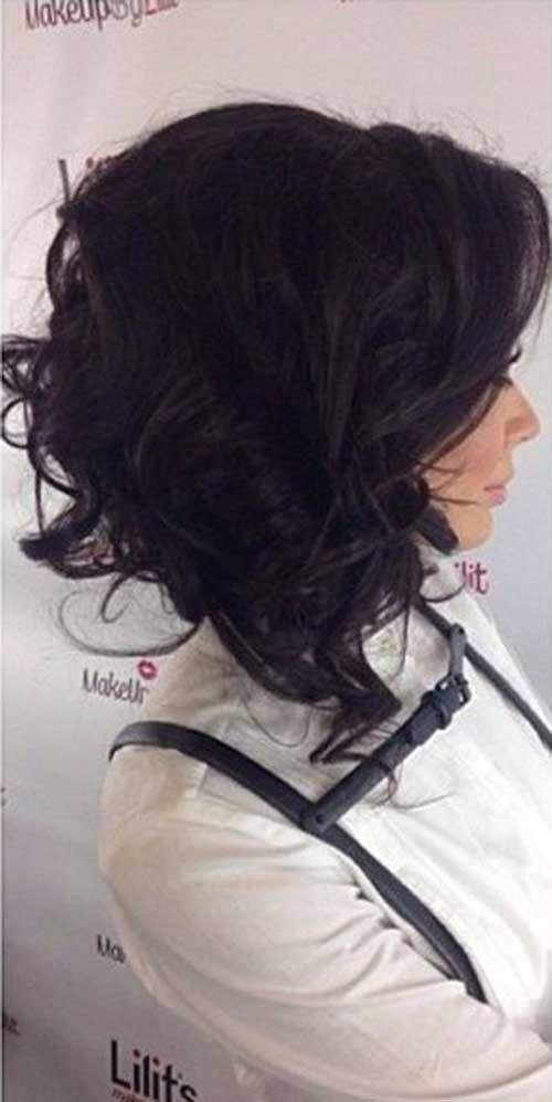 Short-Curly-Dark-Hair-for-Women Best Short Hair Cuts For Women