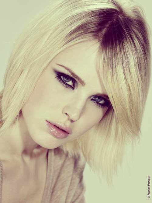 Short-blonde-straight-hair Best Short Straight Hair for Women