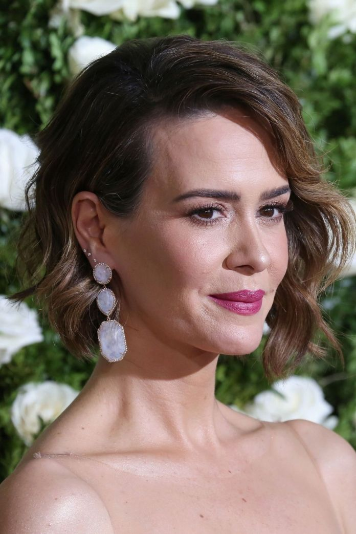 Side-Swept-Asymmetrical-Wavy-Bob Wavy Hairstyles for Women Over 50 – Look Young And Beautiful
