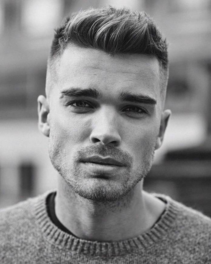 Simple-and-Short-Hairstyle Stylish Hairstyles for Men to Look Attractive