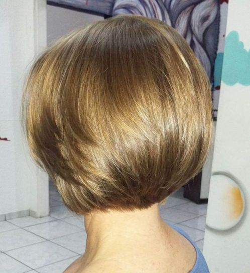 Smooth-Bob Short Haircuts For Thick Hair