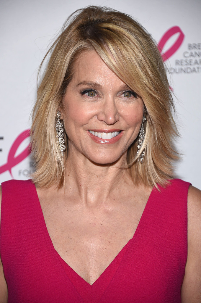 Soft-Layered-Lob Hairstyles For Women Over 50 With Bangs