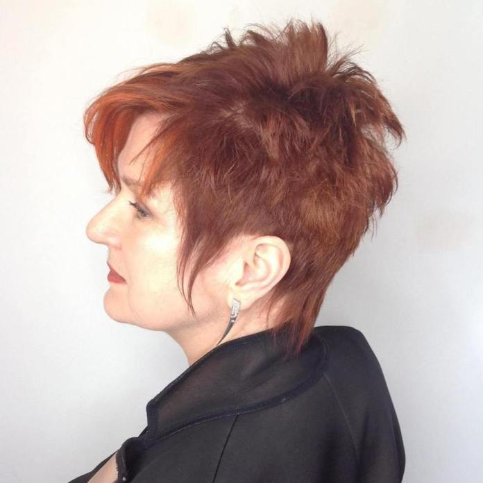 Spike-It-Up Gorgeous Hairstyles and Haircuts for Women Over 40