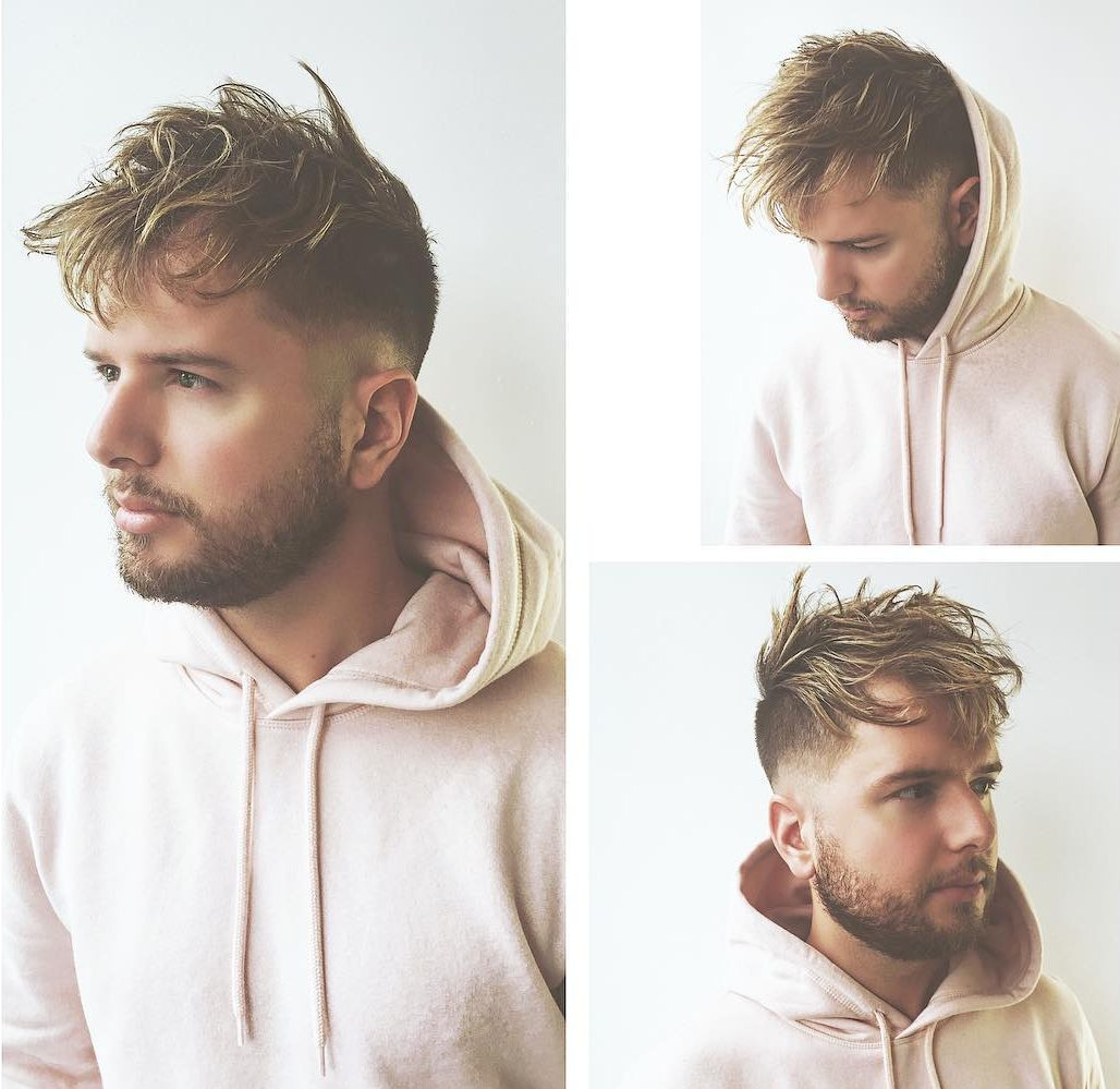 Sporadic-Spiky-Textured-Hair Mens Hairstyles with Thin Hair for Ultra Stylish Look