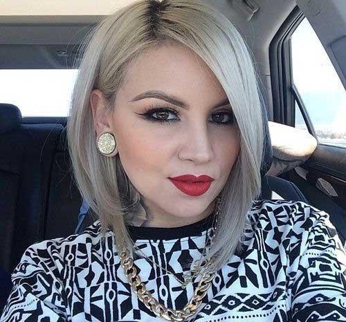 Stef-Lova-Short-Blonde-Bob-Haircut Short Trendy Hairstyles 2020