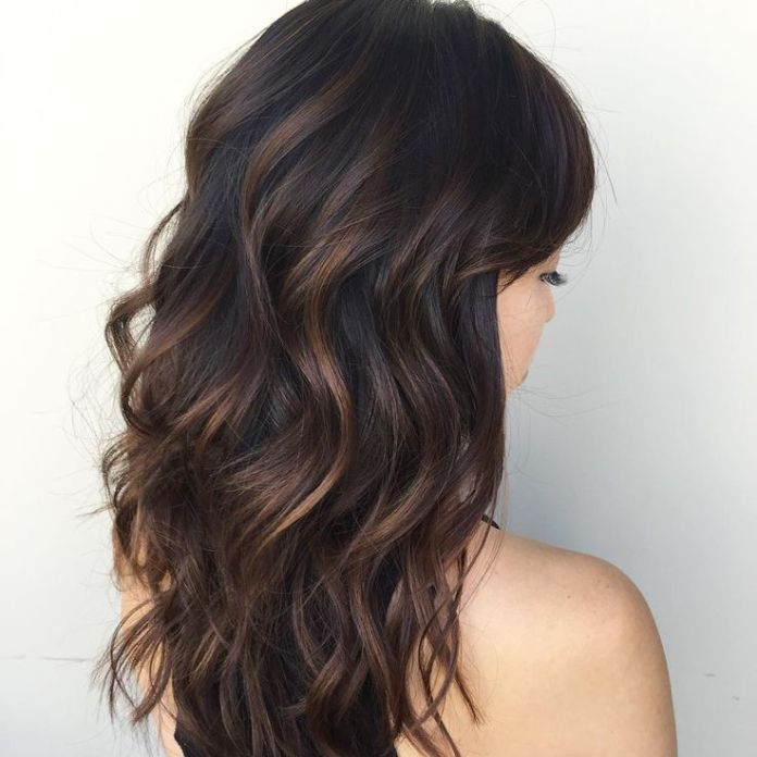Unruly-Black-Hairstyles-with-Highlights Most Beautiful Black Hairstyles with Highlights