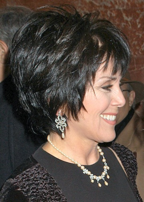 short-layered-hairstyle-for-older-women Hottest Short Layered Hairstyles For Women Over 50