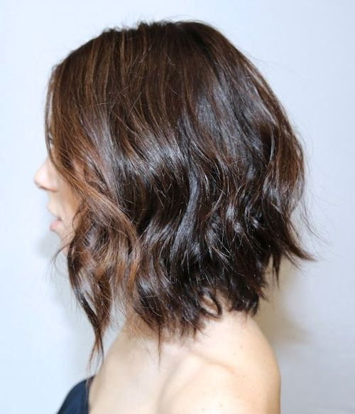 A-line-Bob-with-Loose-Messy-Waves 20 of the Most Hottest A-Line Bob Hairstyles