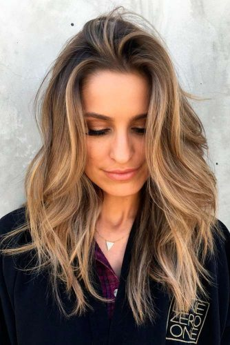 Boho-Chic-Chick-for-thick-hair 15 Graceful Medium Length Haircuts for Thick Hair