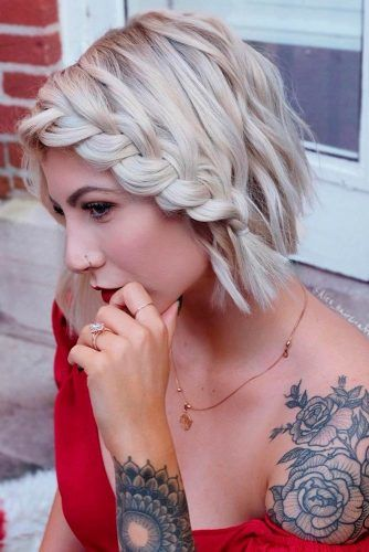 Braided-Bob 12 Best Short Haircuts For 2020