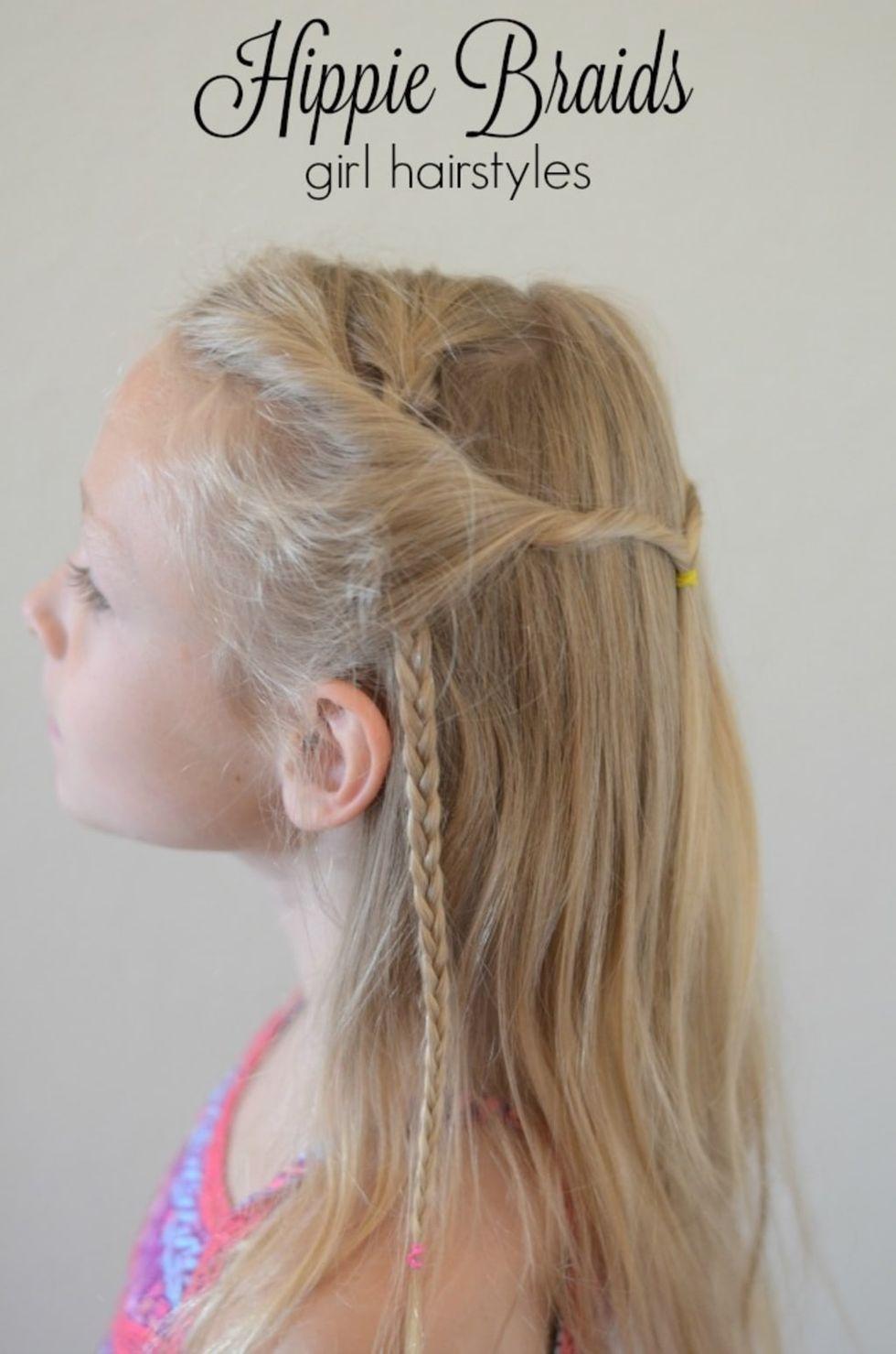 Braids-With-Half-Up-Twist 10 super cute braid hairstyles for kids
