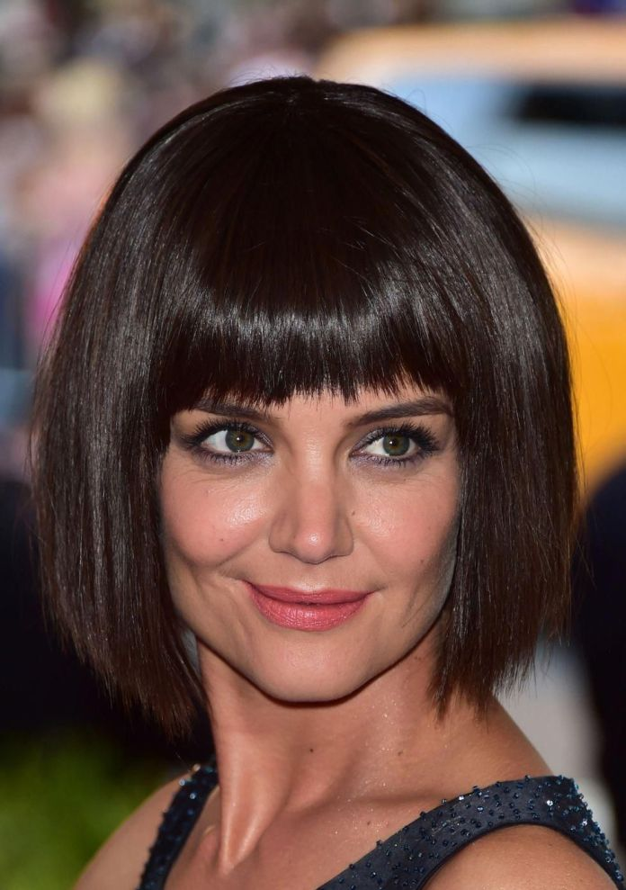 Brown-Retro-Bob Roaring and Attractive Short Hairstyles 2020