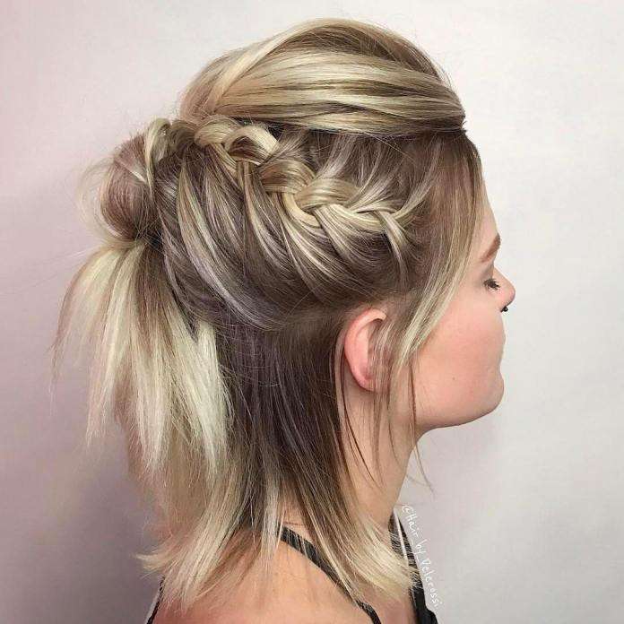 Clutch-Knot-Braid-Hairstyle Glamorous Dutch Braid Hairstyles to Try Now