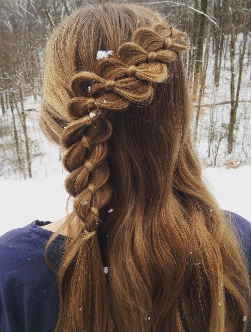 Cool-Knotted-Braid 14 Cute Haircuts for Teenager Girls to Put You on Center Stage