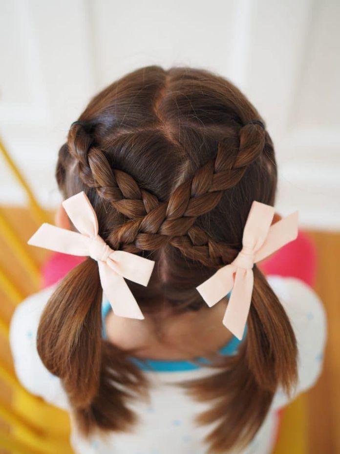 Criss-Cross-Braids 10 super cute braid hairstyles for kids