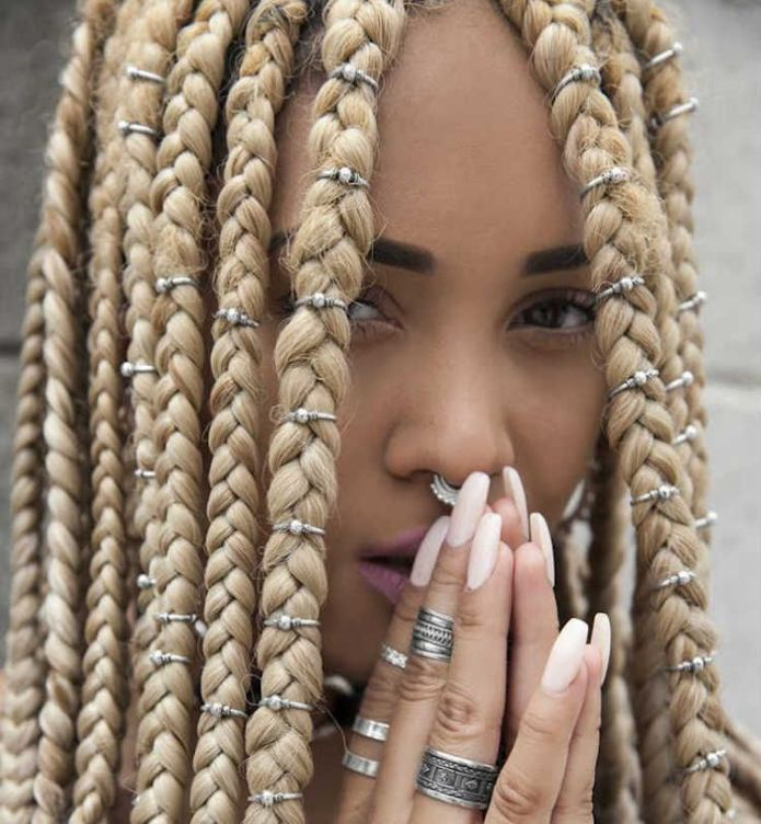 Crochet-with-Rings Endearing Jumbo Box Braids to Look Amazing