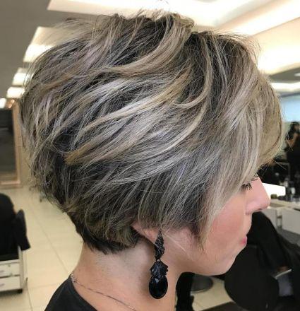 Dark-Pixie-with-Top-Layer-Balayage 12 Stunning short layered bob haircuts