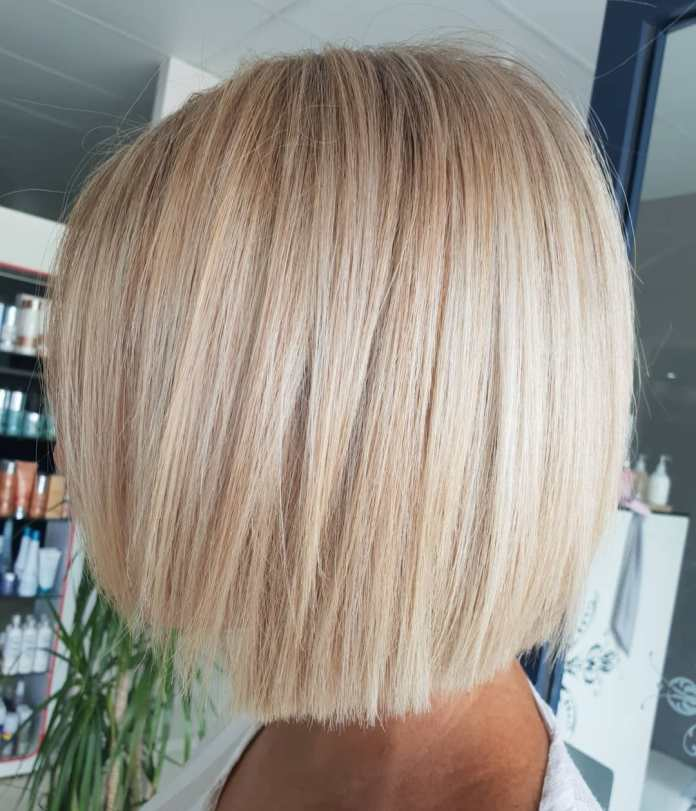 Dual-Length-Straight-Bob Must Try Bob Hairstyles 2020 for Trendy Look