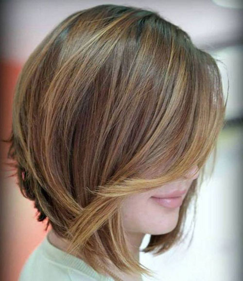 Fine-Bob-Style 14 stunning Short Haircuts and Hairstyles for Fine Hair