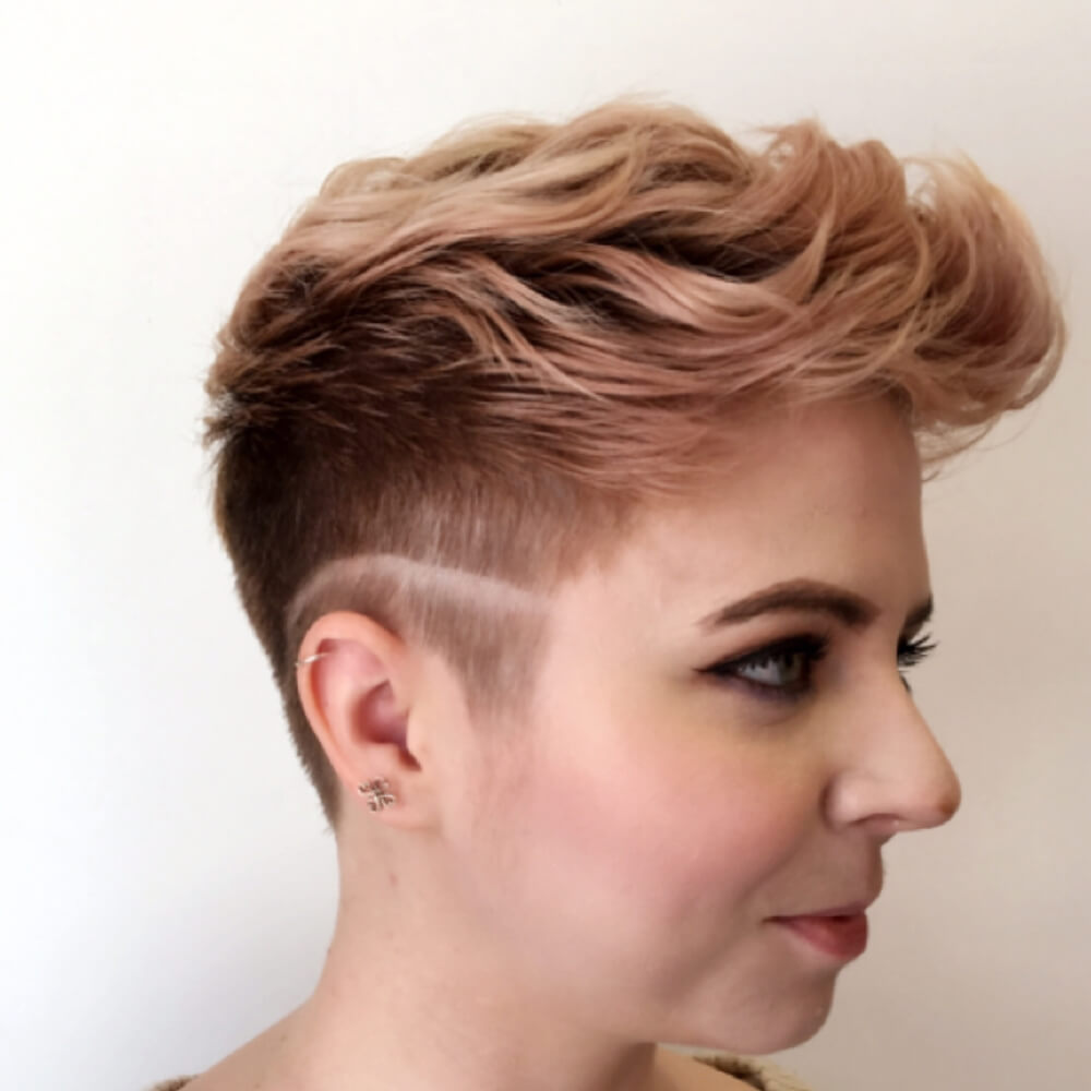 Firmly-Cropped-Curled-Pixie Undoubtedly Coolest Pixie Cuts for Wavy Hair