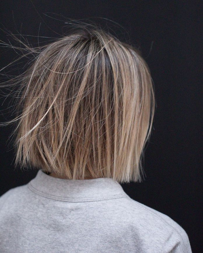Highlighted-Short-Bob Roaring and Attractive Short Hairstyles 2020