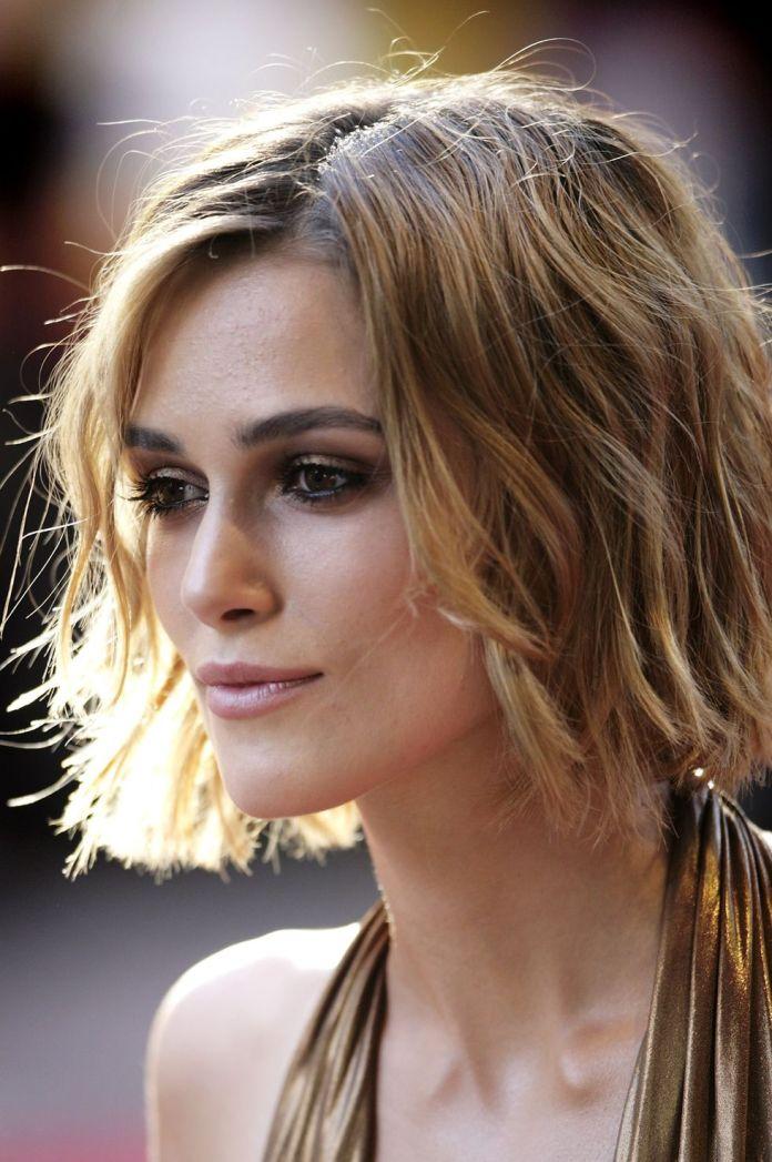 Keira-Knightley-blunt-bob 10 Trendy Blunt Bobs Hairstyles