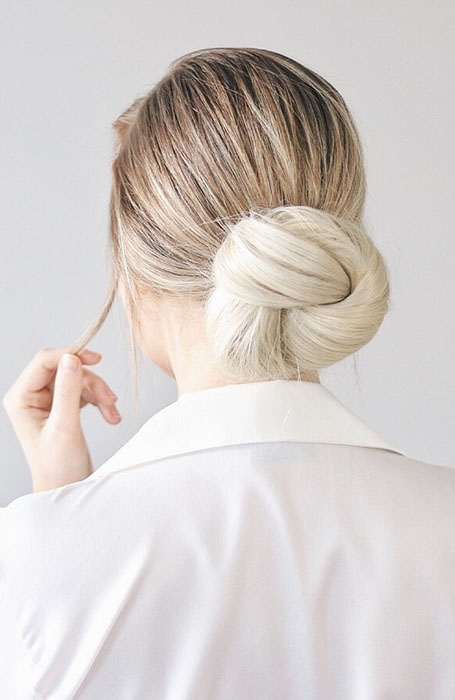 Knot-Bun 10 Messy Bun Hairstyles to Refresh Your Casual Look