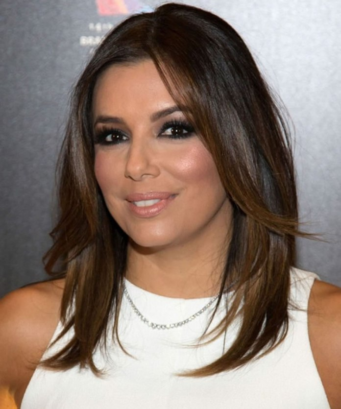 Layered-Hair-with-Chocolate-Highlights Most Trendy and Terrific Medium Hairstyles 2020