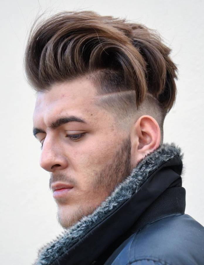 Long-Layered-Haircut Most Stylish Hairstyles with Disconnected Undercut