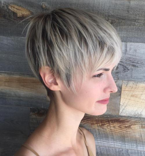 Long-Pixie-Cut 14 stunning Short Haircuts and Hairstyles for Fine Hair