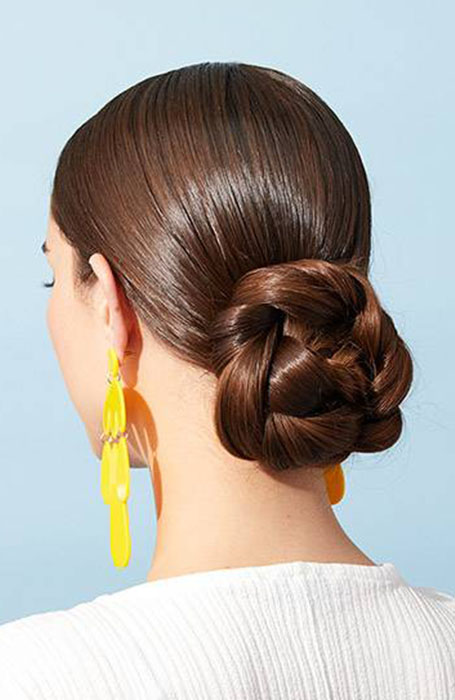 Low-Bun 10 Messy Bun Hairstyles to Refresh Your Casual Look