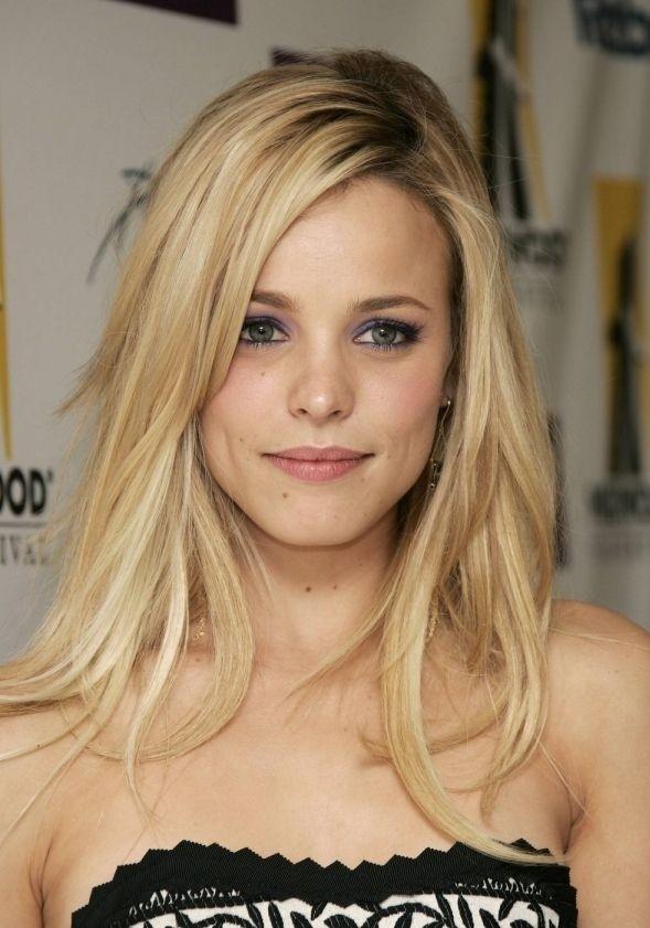 Medium-Long-Layered-Blonde-Hair Most Trendy and Terrific Medium Hairstyles 2020