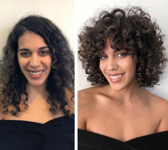 Natural-curly-hair Top 10 Glamorous layered curly hairstyles