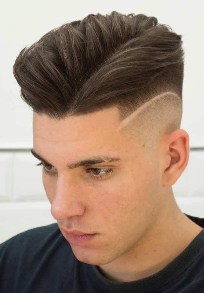 Razored-disconnected-undercut Most Stylish Hairstyles with Disconnected Undercut