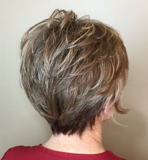 Rounded-Feathered-Pixie-with-Babylights 12 best pixie hairstyles for women over 50