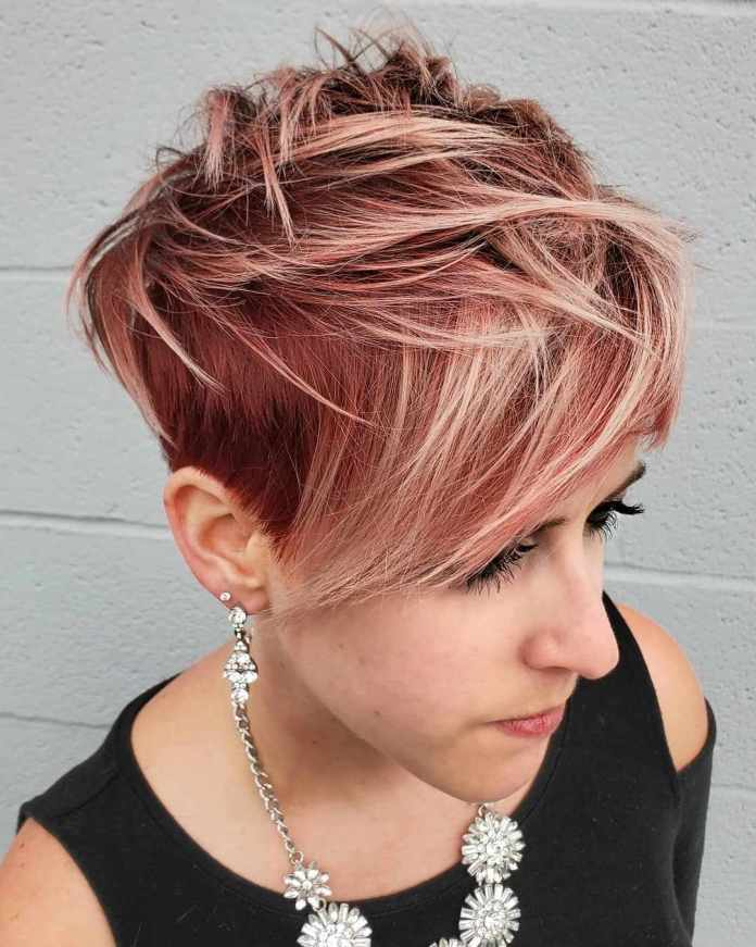 Short-Top-Wedge-Cut Roaring and Attractive Short Hairstyles 2020